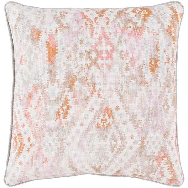 Dacula 100% Cotton Pillow Cover by Bungalow Rose